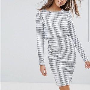 Asos vila double layer dress (NWT)